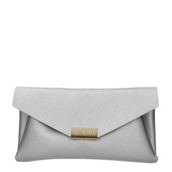 Pochette Donna con Tracolla VALENTINO BAGS linea Arpie colore Argento