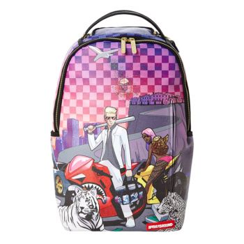 Zaino Uomo SPRAYGROUND stampa The Drop Off
