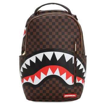Zaino Uomo SPRAYGROUND stampa Sharks in Paris Brown
