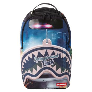 Zaino Uomo SPRAYGROUND stampa Grand Theft Shark