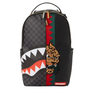 SPRAYGROUND Offended Lined Spucci Split Print Backpack for Men