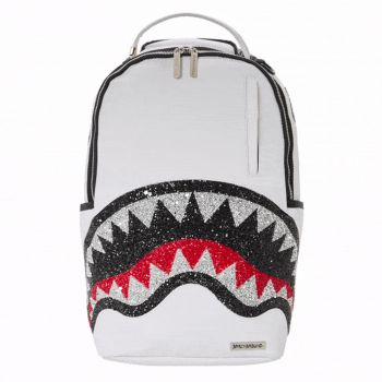 SPRAYGROUND Trinity 2.0 Shark Line White Backpack