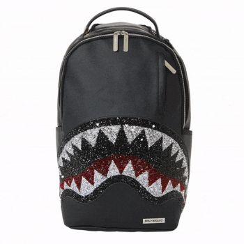 SPRAYGROUND Trinity 2.0 Shark Line Black Backpack