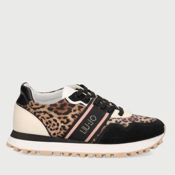 Scarpe Donna LIU JO Sneakers in Raso stampa Animalier