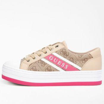 Scarpe Donna GUESS Sneakers Beige Linea Barona