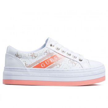 Scarpe Donna GUESS Sneakers Linea Barona Colore Bianco