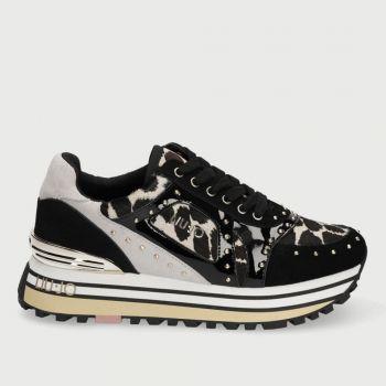 Scarpe Donna LIU JO Sneakers Animalier con Borchie