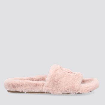 Ciabatte Donna LIU JO in Tessuto Eco Fur color Nude
