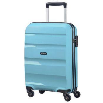 Trolley Cabina 55cm 4 Ruote Leggero 2,5kg - American Tourister Bon Air Blue Topaz