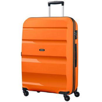 Trolley Grande Rigido 4 Ruote 75cm - American Tourister Bon Air Tangerine Orange