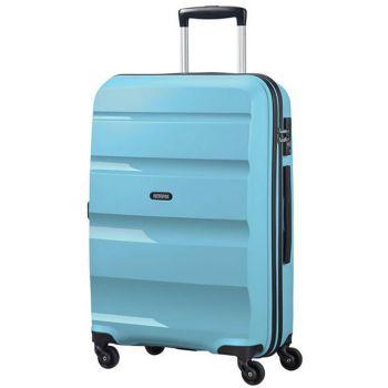 Trolley Medio Rigido 4 Ruote 66cm 3,4kg - American Tourister Bon Air Blue Topaz