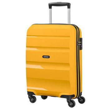 Trolley Cabina 55cm 4 Ruote Leggero 2,5kg - American Tourister Bon Air Light Yellow