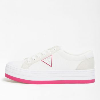 Scarpe Donna GUESS Sneakers Bianche Linea Brodey