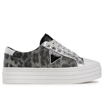 Scarpe Donna GUESS Sneakers Linea Brodey Colore Leo Gray
