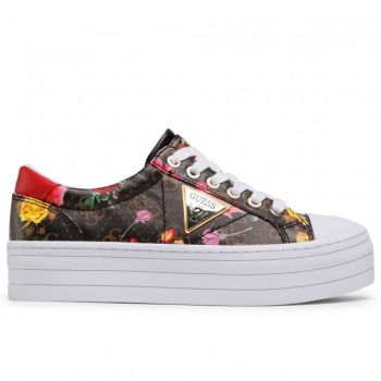 Scarpe Donna GUESS Sneakers Linea Brodey Colore Black Pois - Jungle