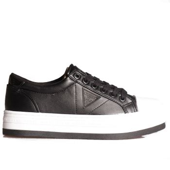 Scarpe Donna GUESS Sneakers Nere e Bianche Linea Brodey