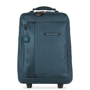 Trolley Cabina Porta PC e tablet con Portabiti, Portabilità a Zaino e Borsa PIQUADRO BV3159SI2 Avio