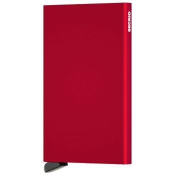 Portacarte SECRID in Alluminio Red con RFID