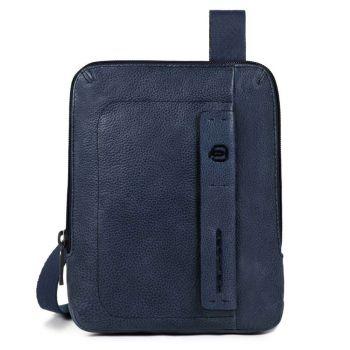 Borsello Uomo Piquadro in Pelle Blu Porta iPad Mini - CA3084P15S linea P15S