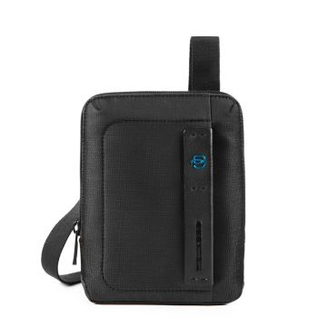 PIQUADRO Pulse 16 – Chevron Fabric Crossbody Bag With iPad mini Compartment CA3084P16