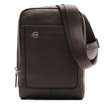Borsello a Tracolla con Porta iPad Mini - PIQUADRO Vibe CA3084VI in Pelle Blu
