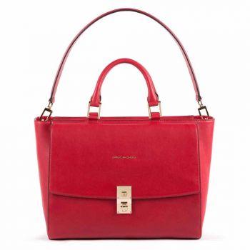Cartella PIQUADRO Borsa Porta Pc e iPad - CA5280DF Linea Dafne Colore Rosso