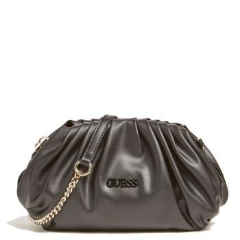 Borsa Donna Clutch GUESS con Tracolla colore Nero Linea Central City