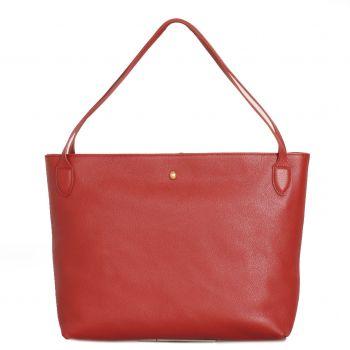 Borsa Donna COCCINELLE in Pelle Linea Cocci Grain Medium colore Foliage Red