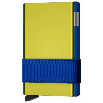 Portafoglio Cardslide SECRID in Alluminio colore Electrolime con RFID
