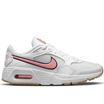 Scarpe Donna NIKE Sneakers linea Air Max SC- SE Colore Bianco e Rosa