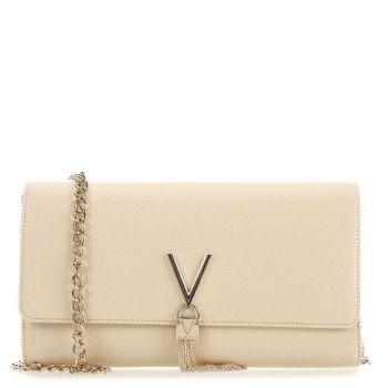 Pochette Donna con Tracolla VALENTINO BAGS linea Divina colore Ecru