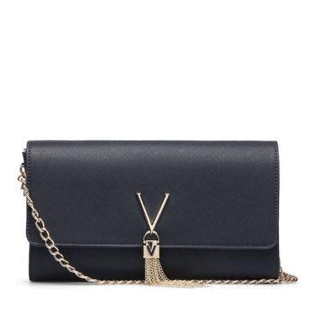 Pochette Donna con Tracolla VALENTINO BAGS linea Divina colore Navy
