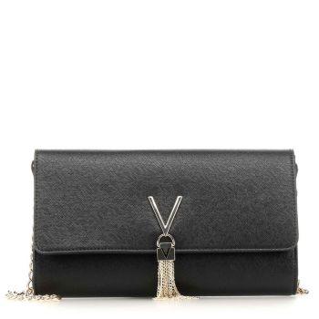 Pochette Donna con Tracolla VALENTINO BAGS linea Divina colore Nero
