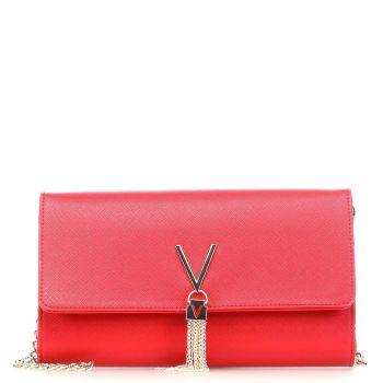 Pochette Donna con Tracolla VALENTINO BAGS linea Divina colore Rosso