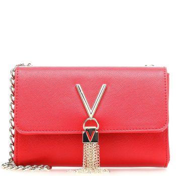 Borsa Donna a Tracolla Piccola VALENTINO BAGS linea Divina Colore Rosso