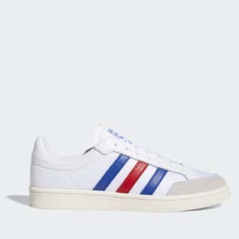 Scarpe Uomo ADIDAS Sneakers linea Americana Low colore Bianco Blu e Rosso