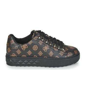 Scarpe Donna GUESS Sneakers Linea Fairest Colore Brown - Ocra