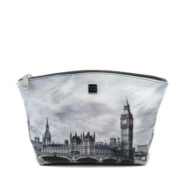 Beauty Medio con Zip Y NOT FAS-309 London Grey