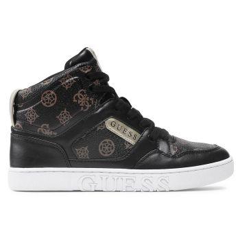 Scarpe Donna GUESS Sneakers Alta Linea Justis Colore Nero