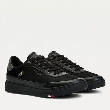 Scarpe Uomo TOMMY HILFIGER Sneakers linea Modern in Cordura colore Nero