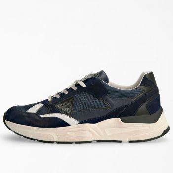 Scarpe Uomo GUESS Sneakers di colore Blu Linea Imola