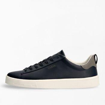 Scarpe Uomo GUESS Sneakers in Pelle di colore Blu Linea Vice