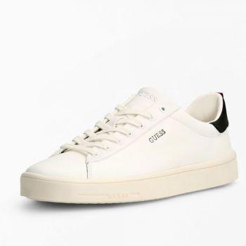 Scarpe Uomo GUESS Sneakers in Pelle di colore Bianca Linea Vice