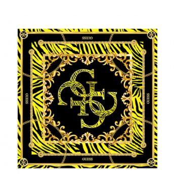 Foulard 90 x 90 cm GUESS colore Giallo