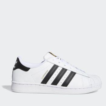 Scarpe Bambino ADIDAS Sneakers linea Superstar C colore Bianco e Nero