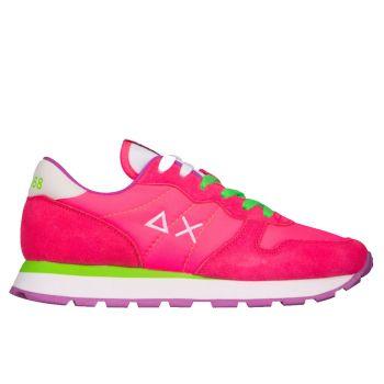 Scarpe Donna Sun68 Sneakers Ally Solid Nylon Fuxia Fluo
