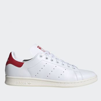 ADIDAS Stan Smith Line – White Leather Sneakers with Red Details