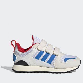 Scarpe Bambino ADIDAS Sneakers linea ZX 700 HD colore Bianco e Azzurro