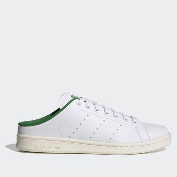 Scarpe Donna ADIDAS Sneakers Slip On linea Stan Smith Mule colore Bianco e Verde