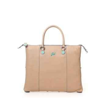 GABS G3 Plus Line Medium Hazelnut Leather Handle Bag